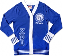 View Buying Options For The Zeta Phi Beta Divine 9 S6 Light Weight Ladies Cardigan