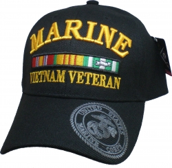 View Buying Options For The Marine Vietnam Veteran Ribbons Bill Shadow Mens Cap