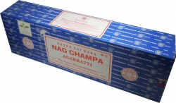 View Buying Options For The Satya Sai Baba Classic Nag Champa Jumbo Boxed Incense Sticks [Pre-Pack]