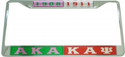 View Buying Options For The Alpha Kappa Alpha + Kappa Alpha Psi Split License Plate Frame
