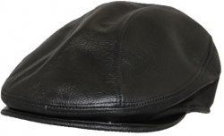 View Buying Options For The Stylish Leather Ivy Mens Cap
