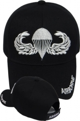 View Buying Options For The Airborne Parachutist Badge Mens Cap