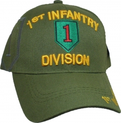 View Buying Options For The 1st Infantry Division Side Shadow Mens Cap