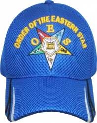 View Buying Options For The Eastern Star Striped Bill Ladies Air Mesh Cap