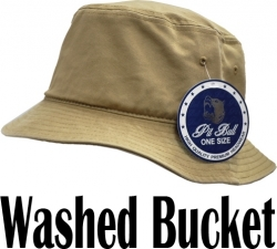 View Buying Options For The Plain Color Washed Mens Bucket Hat