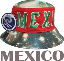 View Buying Options For The Mexico Galaxy Print Mens Bucket Hat