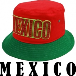 View Buying Options For The Mexico 2-Tone Mens Bucket Hat