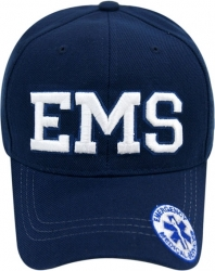 View Buying Options For The EMS Text Logo On Bill Mens Cap