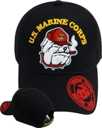 View Buying Options For The U.S. Marine Corps Bulldog Logo Bill Mens Cap