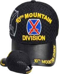 View Buying Options For The 10th Mountain Division Shadow Vinyl Bill Mens Air Mesh Cap