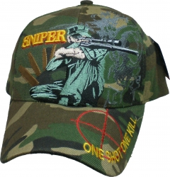 View Buying Options For The Sniper One Shot One Kill Target Bill Mens Cap