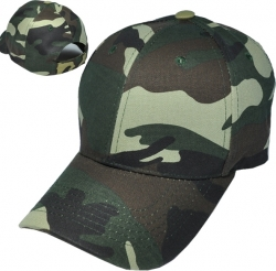 View Buying Options For The Plain Camouflage Curved Bill Mens Cap