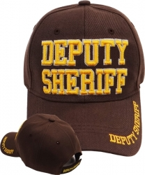 View Buying Options For The Deputy Sheriff Text Mens Cap