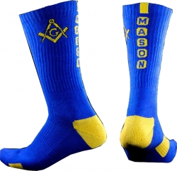 View Buying Options For The Mason Greekfeet Mens Athletic Dri-Fit Crew Socks