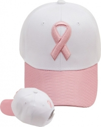 View Buying Options For The Pink Ribbon Micro Mesh Bill Ladies Cap