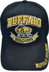 View Buying Options For The Buffalo Soldiers Banner Mens Cap
