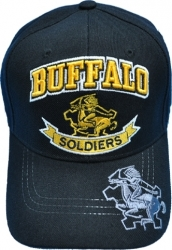 View Buying Options For The Buffalo Soldiers Banner Horse Shadow Bill Mens Cap