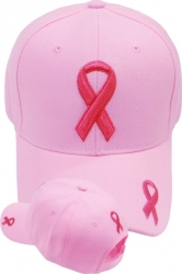 View Buying Options For The Pink Ribbon Logo Ladies Cap