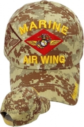 View Buying Options For The Marine Air Wing Shadow Mens Cap