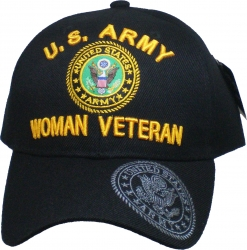 View Buying Options For The U.S. Army Woman Veteran Shadow Bill Ladies Cap