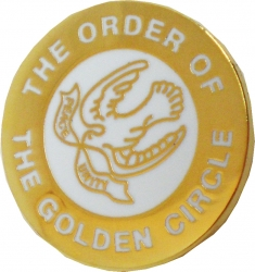 View Buying Options For The Order of the Golden Circle Lapel Pin