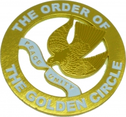 View Buying Options For The Order of the Golden Circle Cut Out Car Emblem