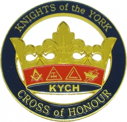View Buying Options For The Knights of the York Cross of Honour Cut Out Car Tag
