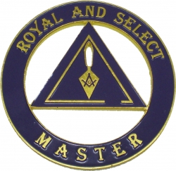 View Buying Options For The Royal and Select Master Mason Cut Out Car Tag
