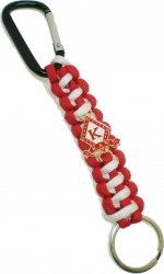 View Buying Options For The Kappa Alpha Psi Paracord Survival Keychain