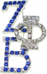 View Buying Options For The Zeta Phi Beta Crystal Overlap Letters Pin
