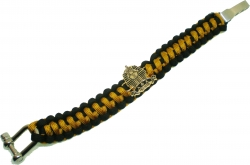 View Buying Options For The Alpha Phi Alpha Paracord Mens Survival Bracelet