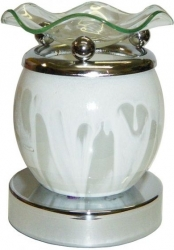 View Buying Options For The Aroma Marbled Globe Electric Aroma Lamp