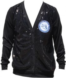 View Buying Options For The Zeta Phi Beta Sequins Divine 9 Ladies Cardigan