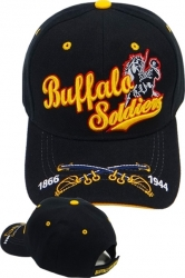 View Buying Options For The Buffalo Soldiers Cross Swords Bill Mens Cap