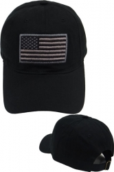 View Buying Options For The US Flag Tone-On-Tone Relaxed Cotton Mens Baseball Cap
