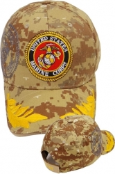 View Buying Options For The Marine Gold Leaf Sandwich Bill Shadow Mens Cap