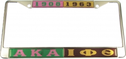 View Buying Options For The Alpha Kappa Alpha + Iota Phi Theta Split License Plate Frame