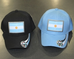 View Buying Options For The Argentina Flag Futbol Mens Cap