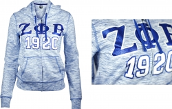 View Buying Options For The Zeta Phi Beta Divine 9 Ladies Pajama Jacket