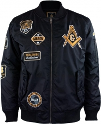 View Buying Options For The Mason Divine Bomber Flight Mens Jacket