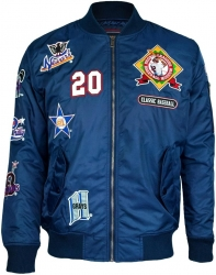 View Buying Options For The Negro League Baseball Bomber Flight Mens Jacket