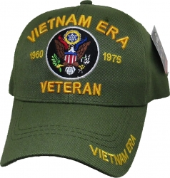 View Buying Options For The Vietnam Era Army Veteran Mens Cap