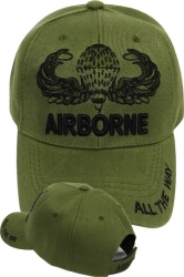 View Buying Options For The 82nd Airborne Wings All The Way Tone-On-Tone Mens Cap