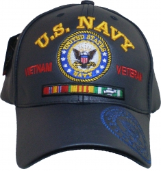 View Buying Options For The U.S. Navy Vietnam Veteran Red Letter PU Leather Mens Cap
