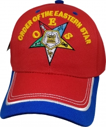 View Buying Options For The Eastern Star 2-Tone Bill Ladies Cap