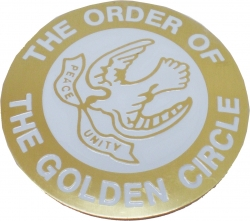 View Buying Options For The Order of the Golden Circle Etched Round Car Emblem