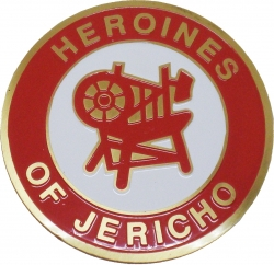 View Buying Options For The Heroines of Jericho Etched Round Car Emblem