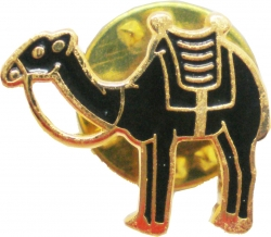 View Buying Options For The Shriner Desert Camel Clyde Enamel Lapel Pin