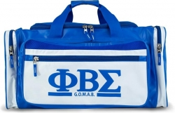 View Buying Options For The Phi Beta Sigma Divine 9 S2 PU Leather Duffle Bag