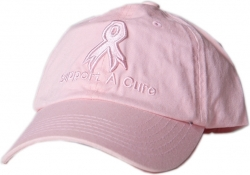 View Buying Options For The Support A Cure Pink Ribbon Ladies Hat